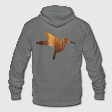 Hum Humming bird - Unisex Fleece Zip Hoodie