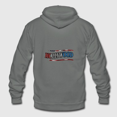 Hollywood - Unisex Fleece Zip Hoodie
