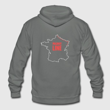 World War Ii World War II French Maginot Line - Unisex Fleece Zip Hoodie