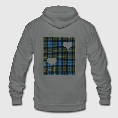 Tartan day - Unisex Fleece Zip Hoodie
