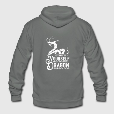 Dragon - Unisex Fleece Zip Hoodie