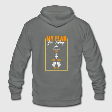 disc golf - Unisex Fleece Zip Hoodie