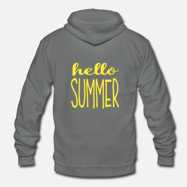 summer - Unisex Fleece Zip Hoodie