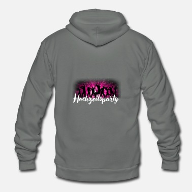 Wedding Party wedding party - Unisex Fleece Zip Hoodie