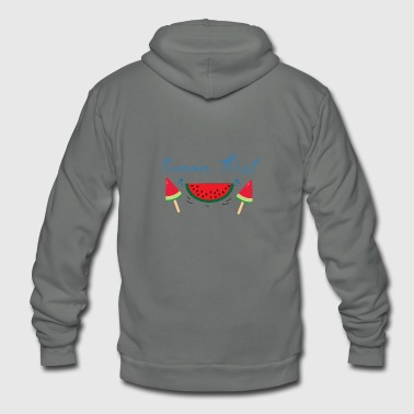 Watermelon thirst - Unisex Fleece Zip Hoodie