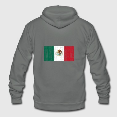 Mexiko flag - Unisex Fleece Zip Hoodie