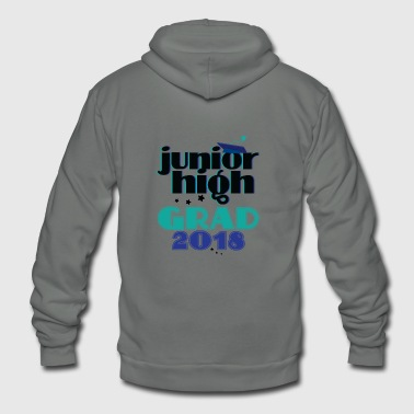 Junior High School Grad Teens Graduation Gift - Unisex Fleece Zip Hoodie