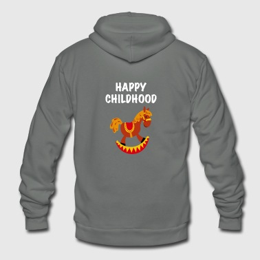 Happy Childhood - Unisex Fleece Zip Hoodie