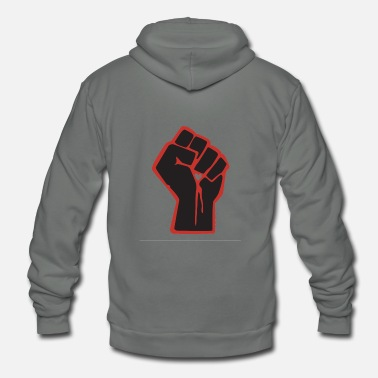 Black-power Black Power - Unisex Fleece Zip Hoodie