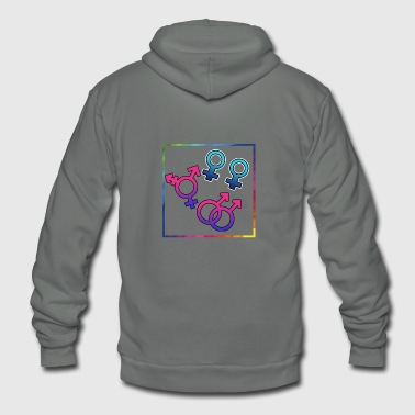 sexually free - Unisex Fleece Zip Hoodie