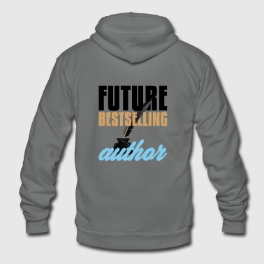 Authority Author Future Bestselling Author Writer - Unisex Fleece Zip Hoodie