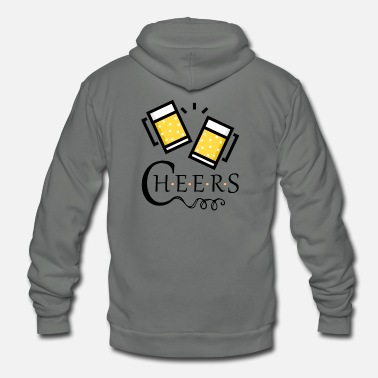 Cheers cheers! - Unisex Fleece Zip Hoodie