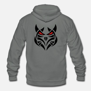 Satanic Demon - cool gift idea - Unisex Fleece Zip Hoodie