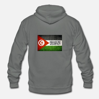 Tunisia tunisia palestine United - Unisex Fleece Zip Hoodie