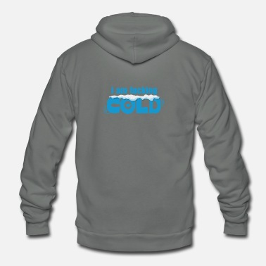 Fucking Cold Winter - Unisex Fleece Zip Hoodie