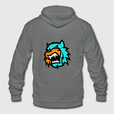 Bob cat logo Neutron - Unisex Fleece Zip Hoodie