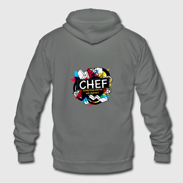 CHEF - Unisex Fleece Zip Hoodie
