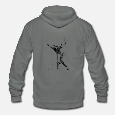 Ballet Dancer Ballet Dancer - Unisex Fleece Zip Hoodie