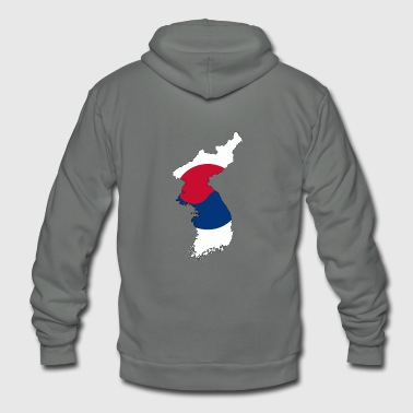 South Korea - Unisex Fleece Zip Hoodie