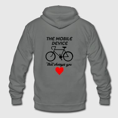 mobile divice - Unisex Fleece Zip Hoodie