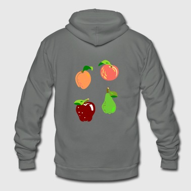 fruit - Unisex Fleece Zip Hoodie