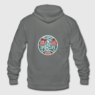 College Football American College Football Competition - Unisex Fleece Zip Hoodie