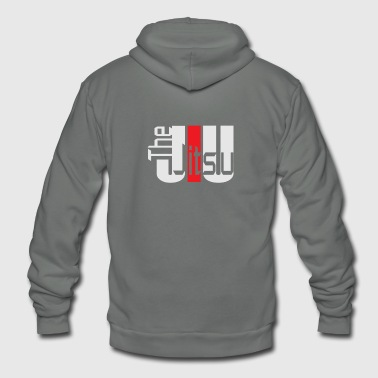 The Jiu Jitsu - Unisex Fleece Zip Hoodie
