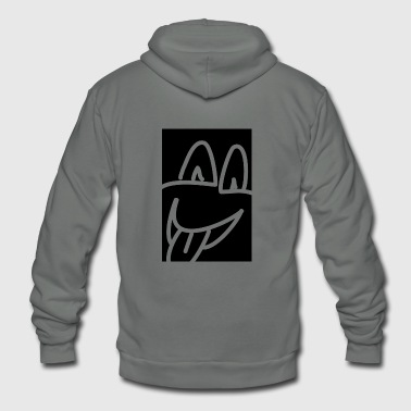 laughing - Unisex Fleece Zip Hoodie