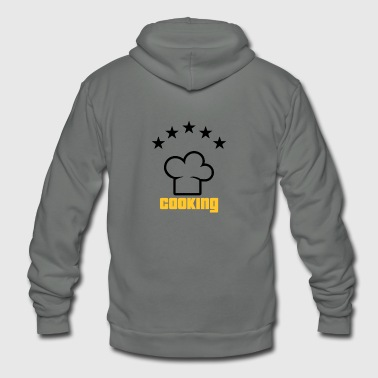 Star Chef Star Chef Cooking funny tshirt - Unisex Fleece Zip Hoodie