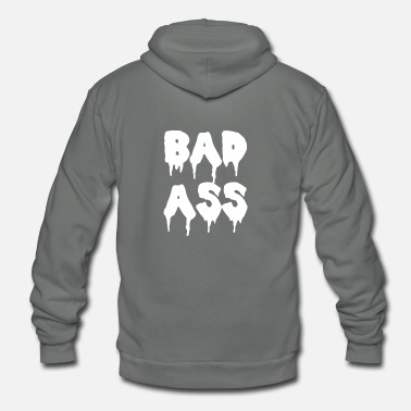 Bad-ass BAD ASS - Unisex Fleece Zip Hoodie