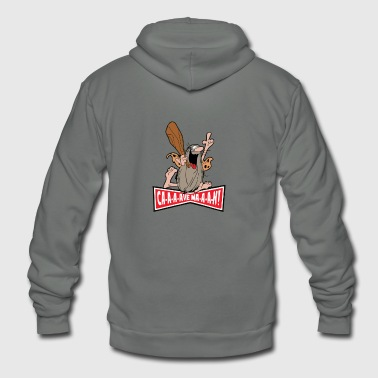 Captain Caveman - Unisex Fleece Zip Hoodie