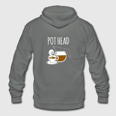 Pot Head - Unisex Fleece Zip Hoodie
