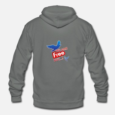 is't free ?!! - Unisex Fleece Zip Hoodie