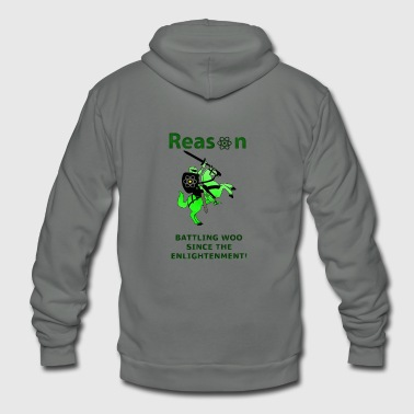 reason - Unisex Fleece Zip Hoodie