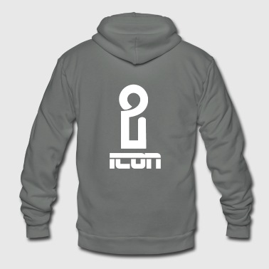 iCON - Unisex Fleece Zip Hoodie