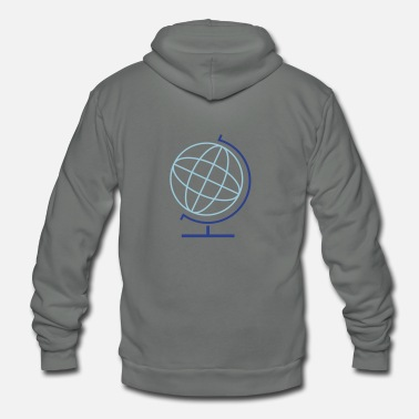 World world - Unisex Fleece Zip Hoodie
