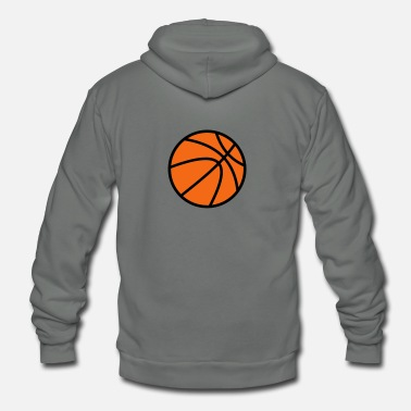 Basketball Basketball - Unisex Fleece Zip Hoodie