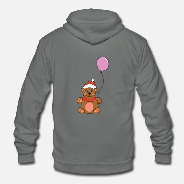 Brown Brown bear - Unisex Fleece Zip Hoodie