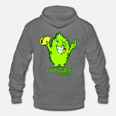 Hungry Hungry - Unisex Fleece Zip Hoodie