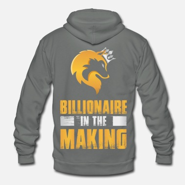 Cashkaa Clothing CashKaa: Billionaire - Unisex Fleece Zip Hoodie