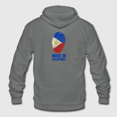 Made In Philippines / Pilipinas - Unisex Fleece Zip Hoodie by American Apparel