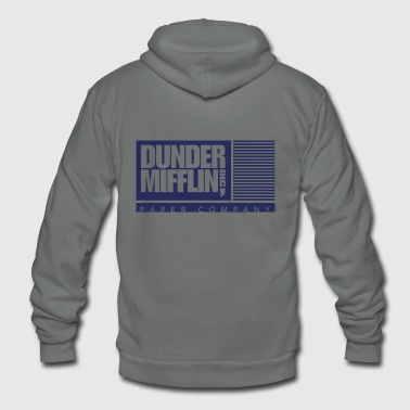 Dunder Mifflin, Inc. - Unisex Fleece Zip Hoodie
