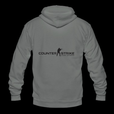 Counter Strike Global Offensive - Unisex Fleece Zip Hoodie
