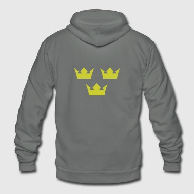 SWEDEN HOCKEY - Unisex Fleece Zip Hoodie