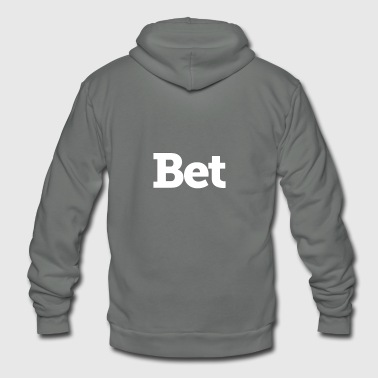 Bet on me - Unisex Fleece Zip Hoodie