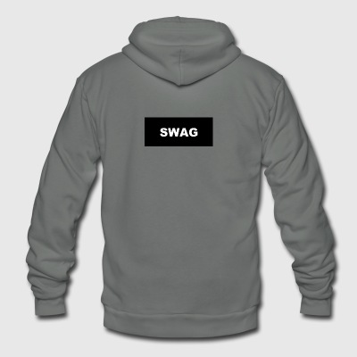 swag - Unisex Fleece Zip Hoodie by American Apparel