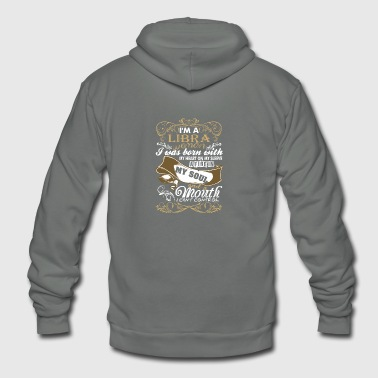 Im A Libra Woman I Was Born With My Heart - Unisex Fleece Zip Hoodie