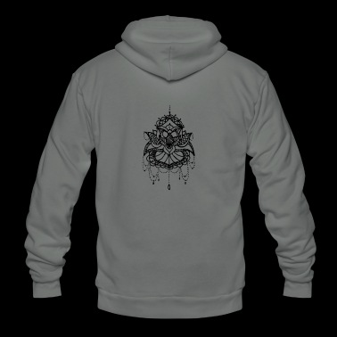 Lotus flower - Unisex Fleece Zip Hoodie