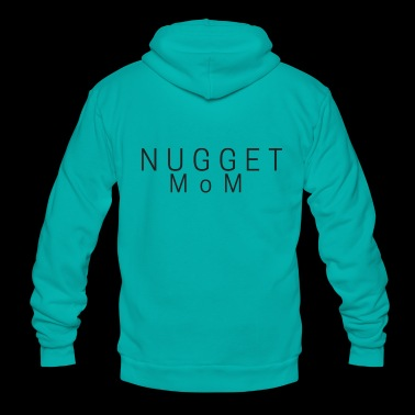 Nugget Mom - Unisex Fleece Zip Hoodie