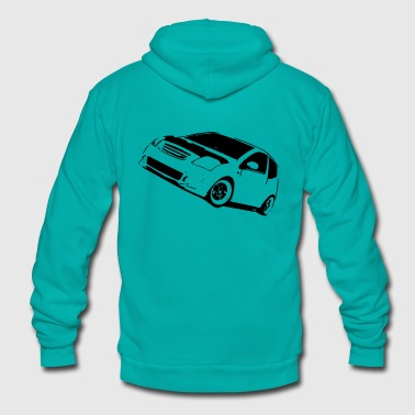 Tuning Car - Unisex Fleece Zip Hoodie
